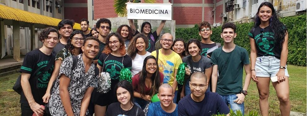 SEMANA DE ACOLHIMENTO DOS CALOUROS DO CURSO DE BIOMEDICINA/UFPA